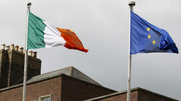 Trotz der Krise - Iren sind überzeugte Europäer.