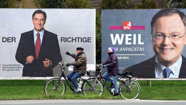 Nächsten Sonntag wird in Niedersachsen gewählt.