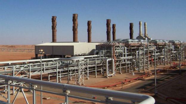 Ort der Entführung: Industrieanlage in der algerischen Sahara.
