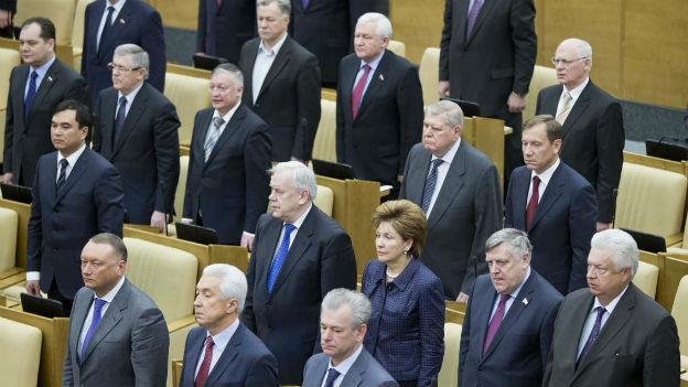 Russisches Parlament stimmt gegen Homosexualität