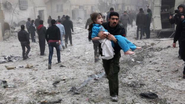 Der Konflikt in Syrien ist eines der grössten Sorgenkinder aus Sicht von Human Rights Watch.