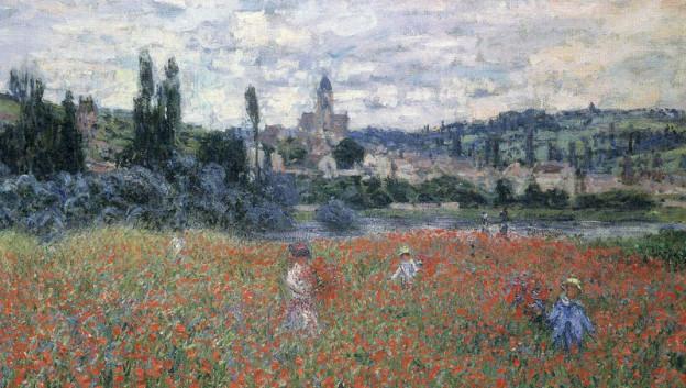 Claude Monet: «Mohnfeld bei Vétheuil»