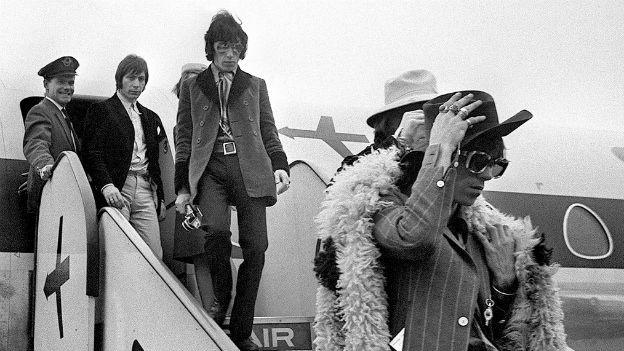 Die Rolling Stones 1967 in der Schweiz