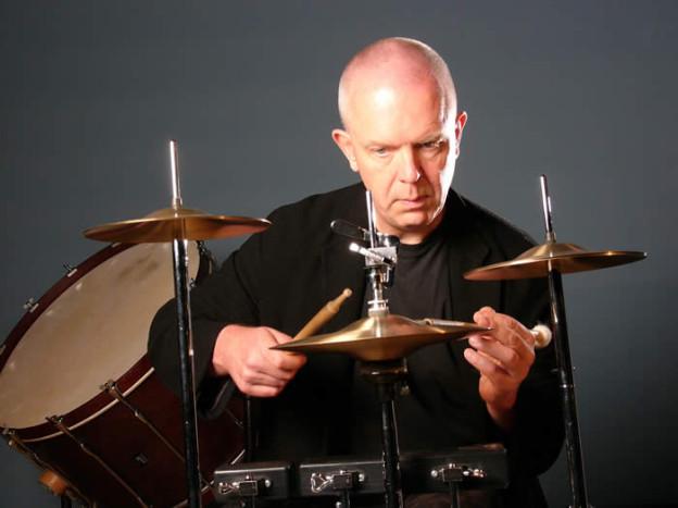 Der Basler Schlagzeuger Fritz Hauser