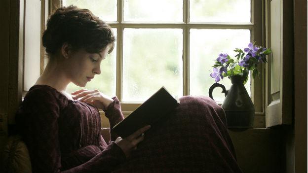 Jane Austen: Hier dargestellt von Schauspielerin Anne Hathaway im Film «Becoming Jane».