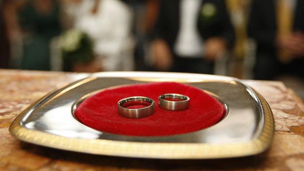 Heiraten ist im Kanton Freiburg momentan besonders «in»