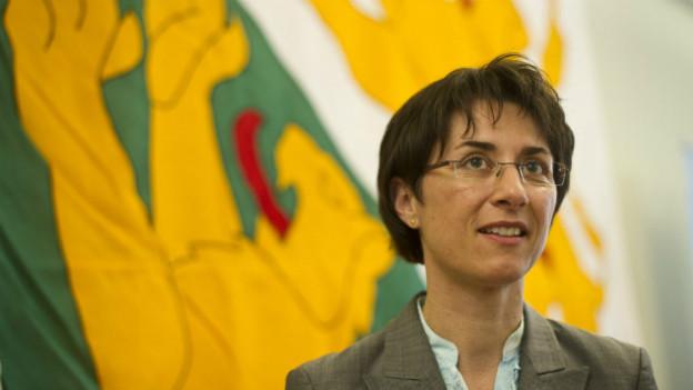 Die Thurgauer SVP-Regierungsrätin Monika Knill