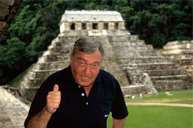 Erich von Däniken kennt sich in der Maya-Kultur aus.