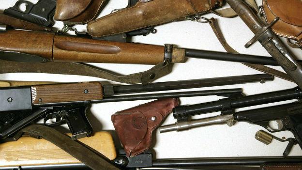 Diskussion um verschärfte Waffenrechte lanciert