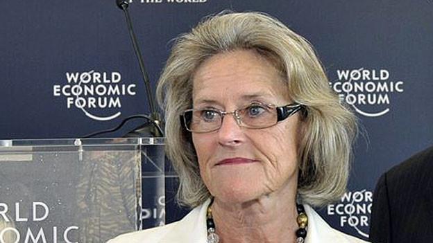 Hilde Schwab, «First Lady» des WEF