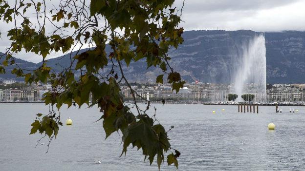 Jet d'eau in Genf, aber der Finanzausgleich versiegt vorläufig