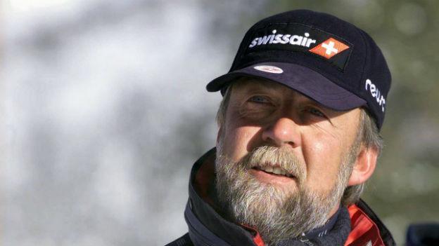 Theo Nadig 1999 bei der Ski WM in Vail