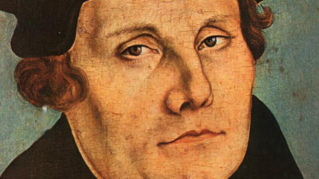 Der exkommunizierte Prediger Martin Luther