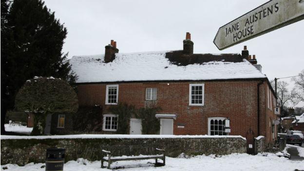 Jane Austens Haus im englischen Chawton, heute ist es ein Museum.