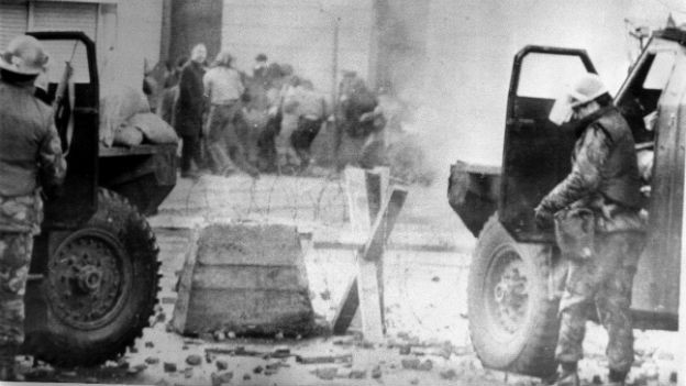 Der «Bloody Sunday» 1972 in Londonderry