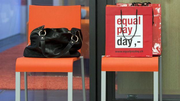 Männer verdienen in der Schweiz noch immer klar mehr