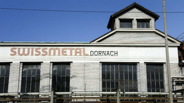 Swissmetal-Werk in Dornach (SO)