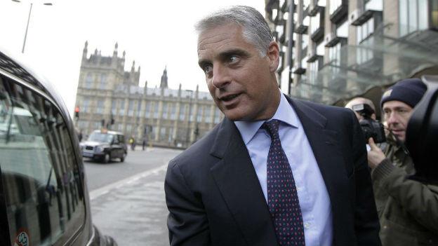UBS-Investmentsbanker Andrea Orcel in London