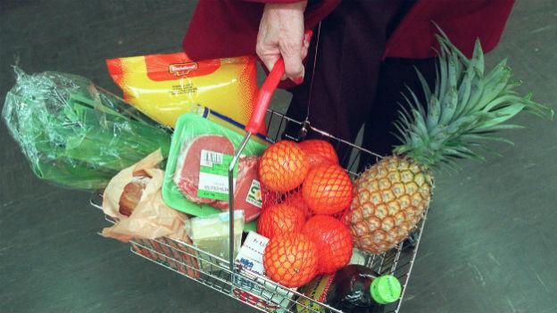 Konsumentenpreise um 0,7 Prozent gesunken
