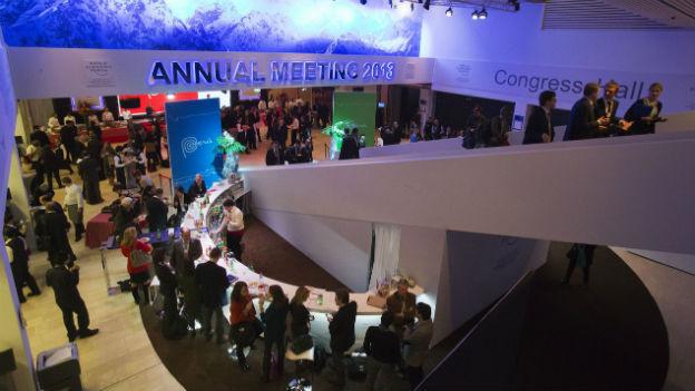 WEF 2013 Wissenschaftlerinnen im Gespräch