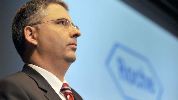 Roche CEO Severin Schwan zufrieden mit 2012
