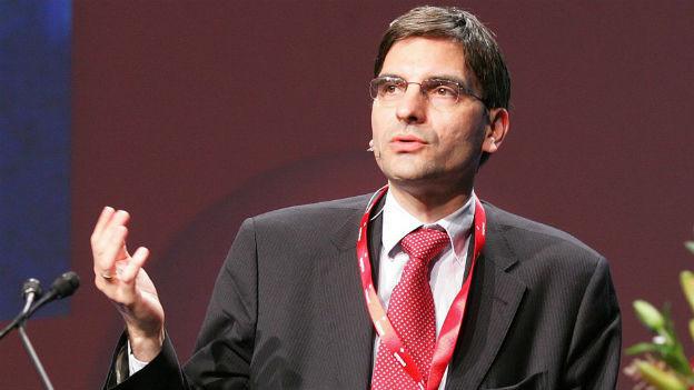 Der Berner Volkswirtschaftsprofessor Aymo Brunetti.