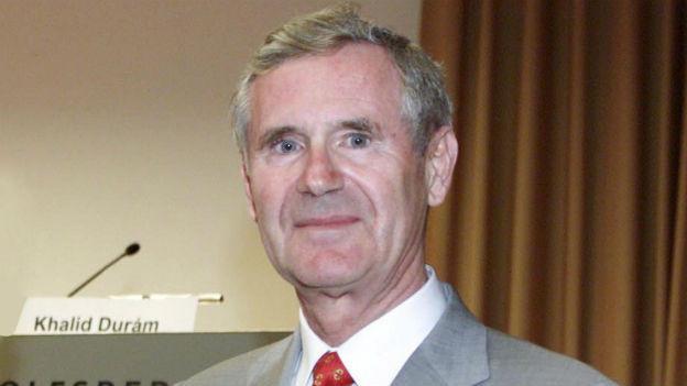 Der emeritierte Biochemieprofessor Gottfried Schatz (Aufnahme von 2001)