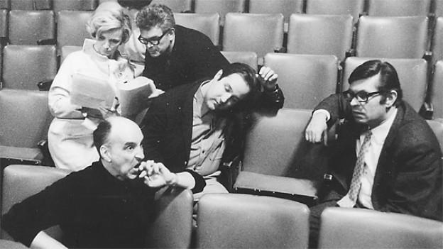 Cédric Dumont, Ulrich Studer und Werner Wollenberger auf Ideensuche.