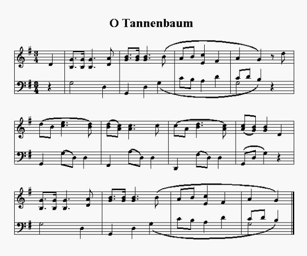 Tannenbaum Lied.Weihnachtslied O Tannenbaum Musikwelle Magazin Srf