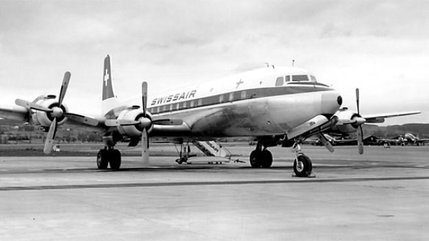 DC-7 von Swissair.