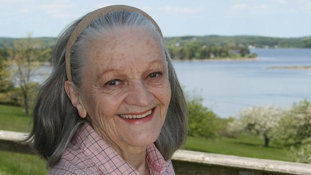 Ines Torelli kurz vor ihrem 80. Geburtstag.