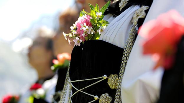 Traditionelle Trachten werden das Bild am Eidgenössischen Jodlerfest prägen.