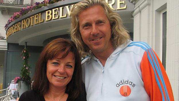 Monika Fasnacht und Christian Duss haben in Davos drei tolle Schlager-, Jass- und Wanderwochen erlebt.