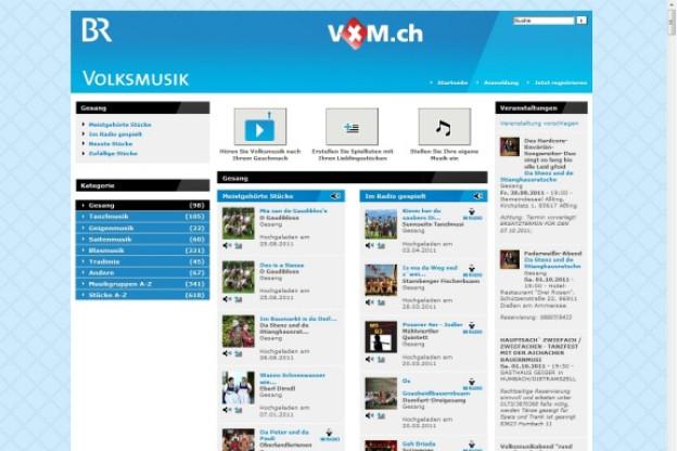 Das Volksmusikportal des Bayrischen Rundfunkes