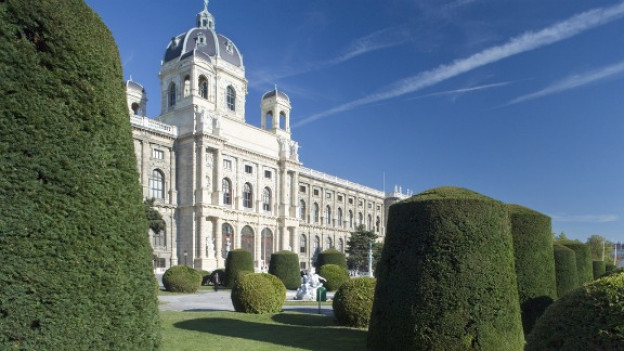 DasNaturhistorische Museum in Wien im Frühling