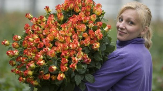 Das gewohnte Mitbringel am Muttertag. Blumen!