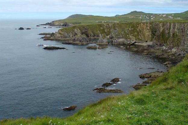 An der irischen Westküste