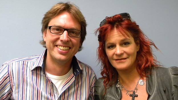 Christian Klemm hat Andrea Berg im Studio von DRS Musikwelle emfpangen.