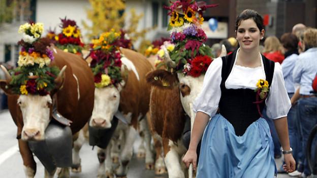 Aufnahme vom Älplerfest 2009.