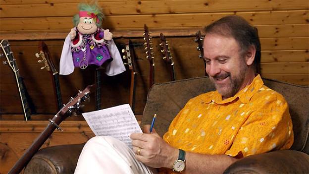 Zwei, die allen Grund zum Lachen haben: Peter Reber und sein «Hippigschpängschtli».