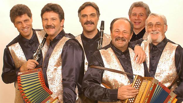 Die Kapelle Oberalp gilt als eine der absolut besten Volksmusikformationen der Schweiz.