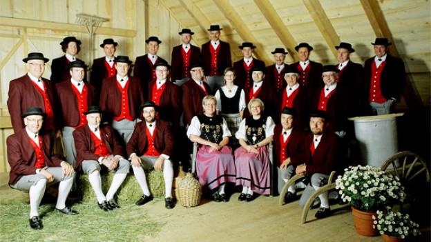 Feiert 2011 das 50-jährige Bestehen: Jodelchörli Lehn, Escholzmatt