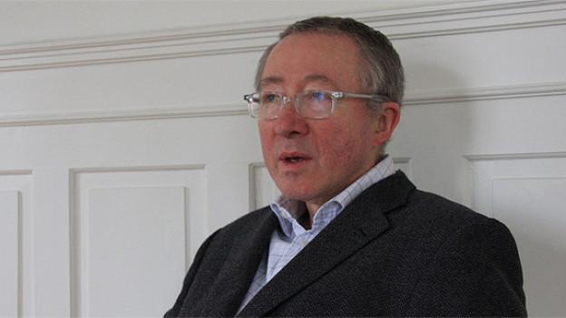 Dirigent und Dozent Karl Scheuber.