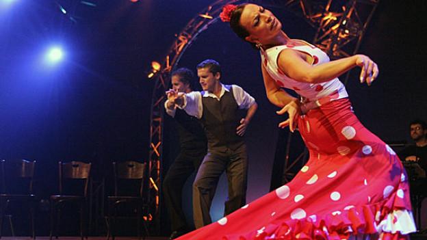 Dramatik pur: Spanischer Flamenco
