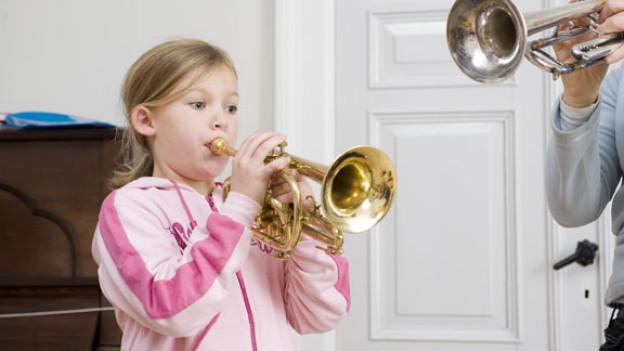 Volksmusikförderung bei Kindern.