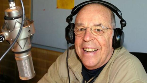 Chris Howland moderiert noch immer beim WDR4.