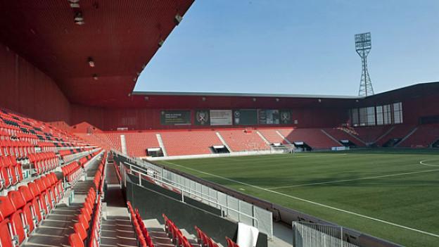 Stadion Maladière in Neuenburg.