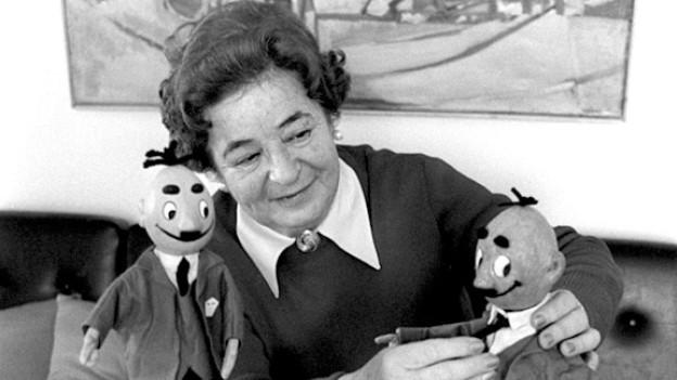 Die «Mutter» von Papa Moll: Edith Oppenheim Jonas (1907-2001).