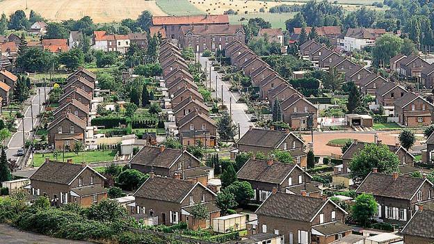 Eine Siedlung, die früher womöglich als «Negerdörfli» bezeichnet worden wäre.