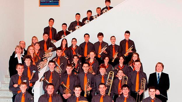 Sechs Musikanten dieser Formationen begeisterten als Kleingruppe das Publikum mit unbekümmert vorgetragenen Stücken.